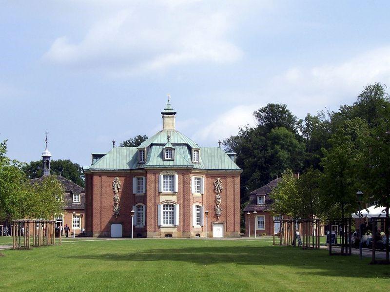 Mooie kastelen in Duitsland - Kastelen en Tuinen - Jagdschloss Clemenswerth