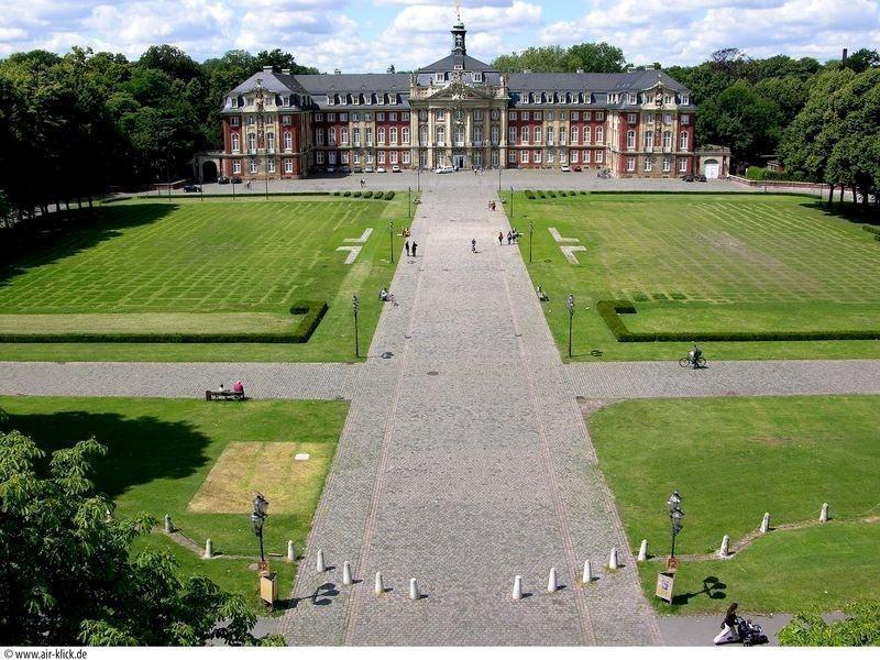 Mooie kastelen in Duitsland - Kastelen en tuinen - Schloss Münster