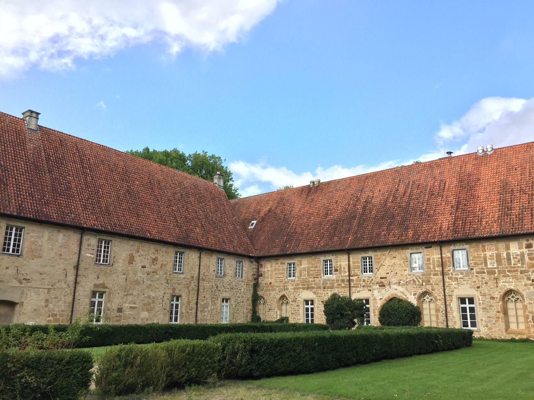 Even van de wereld in Kloster Bentlage