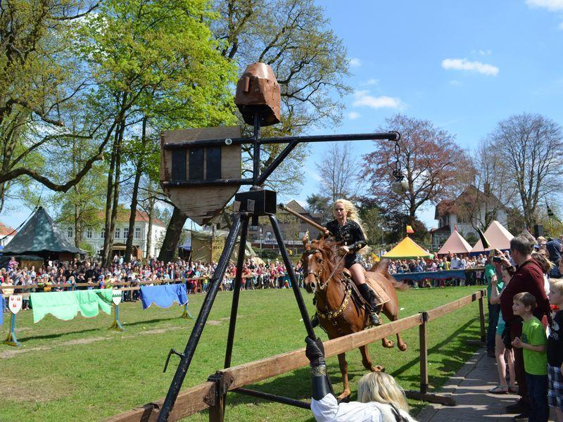 Ridderspelen in Bad Bentheim