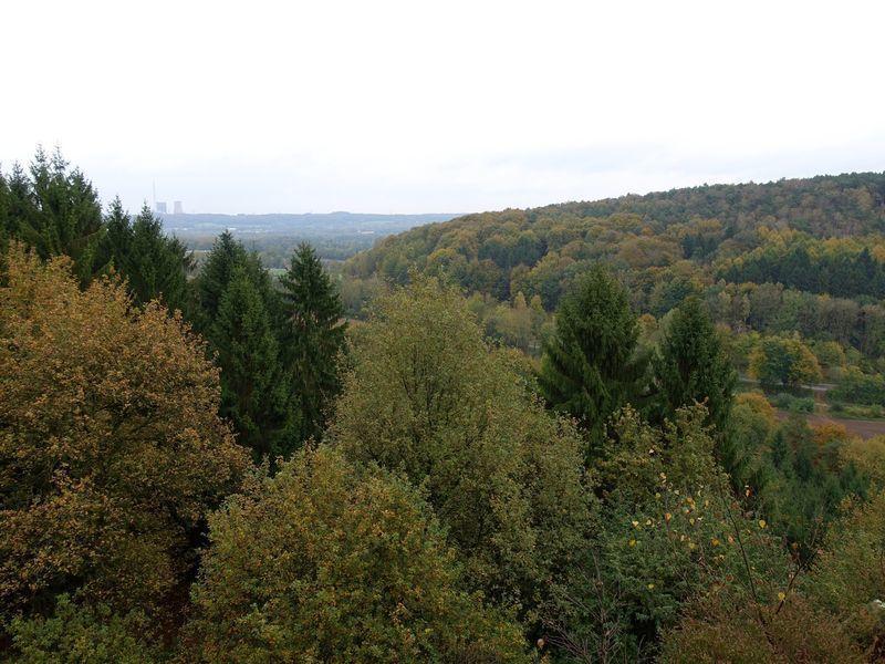 Uitzicht vanaf teutoschleifen | Tecklenburger Land | Teutoschleifen