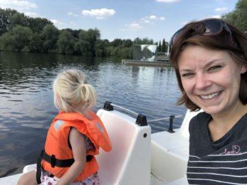 Dagje uit in Nordhorn: winkelen, het Stadtpark en waterfietsen