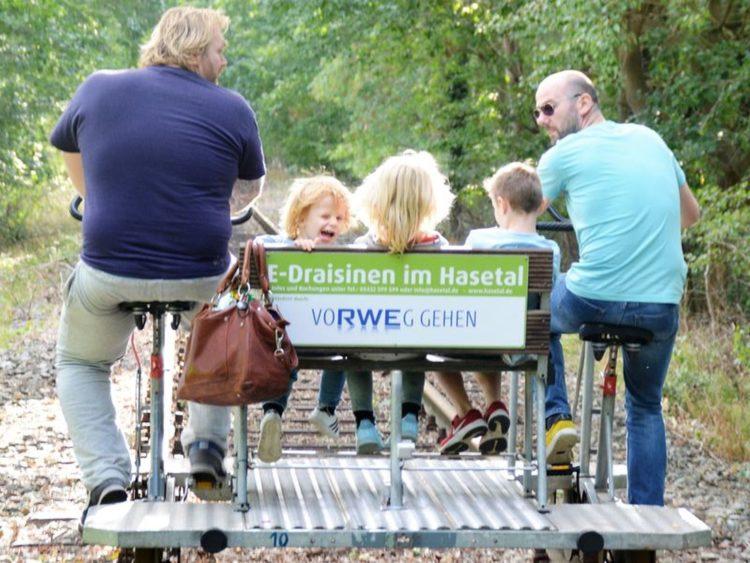 Uit in Bippen: Spoorfietsen