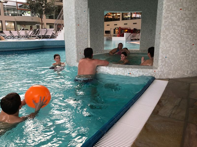 Nettebad, Zwembad